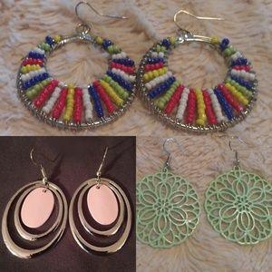 Fun earrings bundle